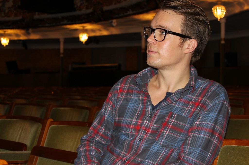 Jesper Dupont på Aarhus Teater. Foto: Morten Hede