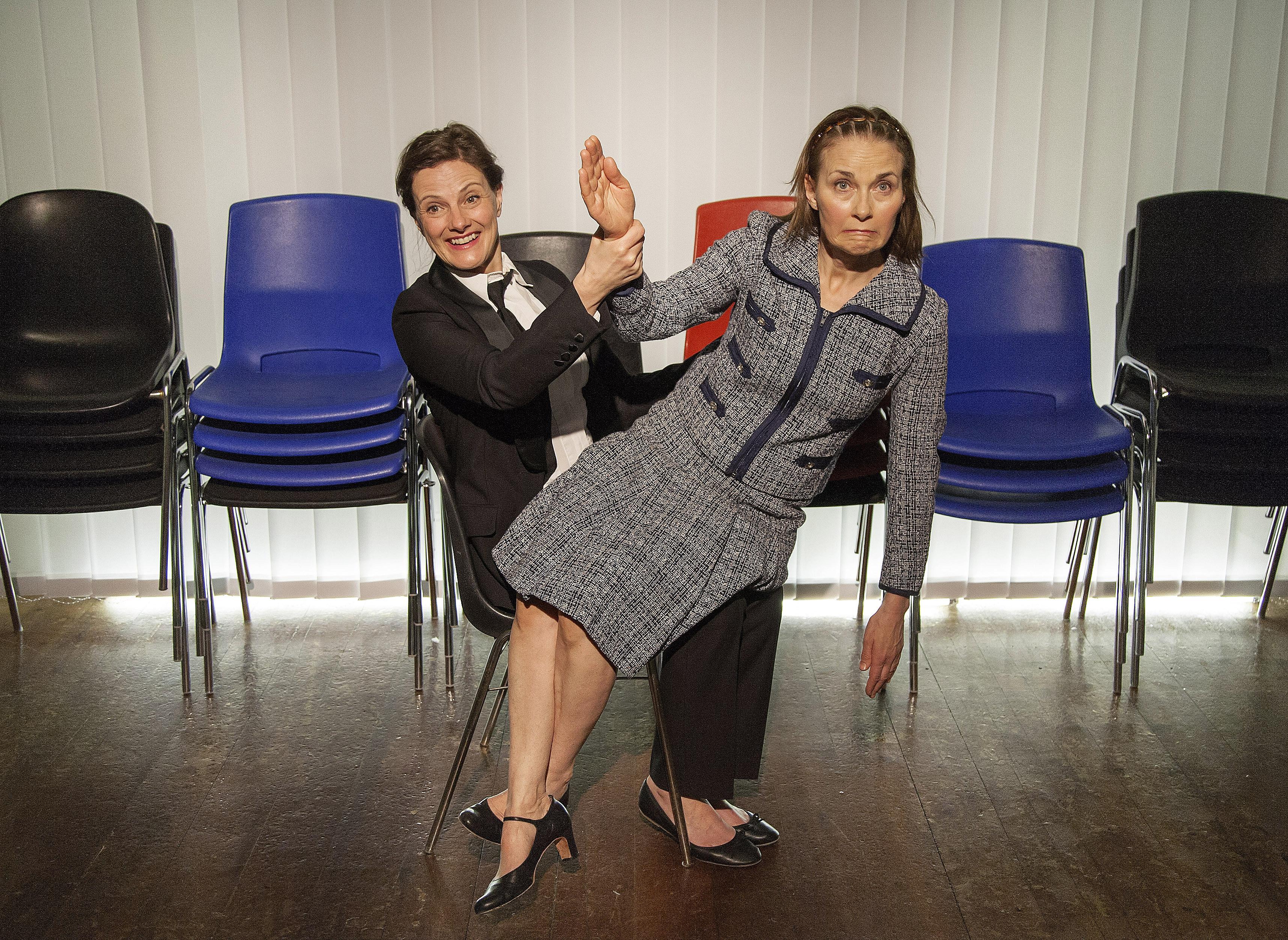 Anette Katzmann og Tove Bornhøft, Verdensrum, Teater Rio Rose