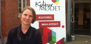Marie Thams ved Kulturmødet på Mors 2013.
