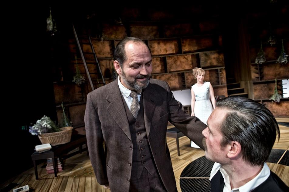 Niels Ellegaard, Marie Louise Wille og Thomas Bang Foto: David Bering