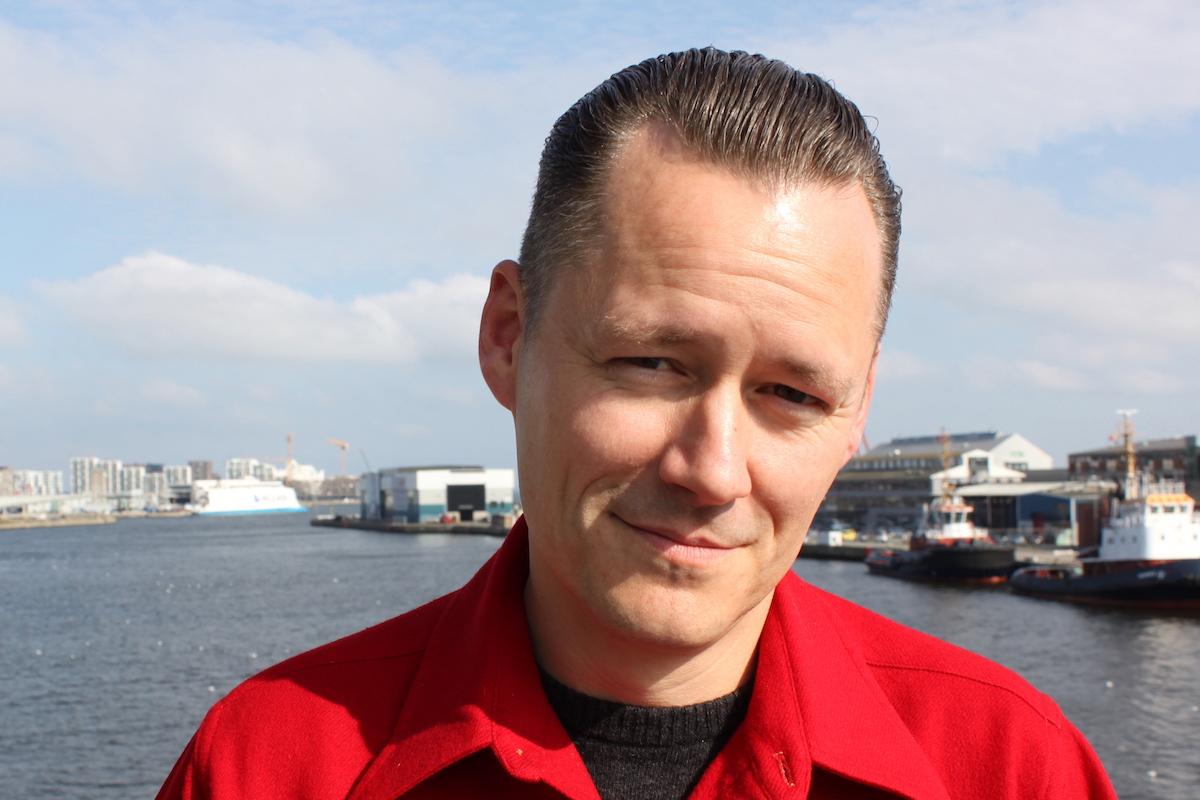 Morten Hede møder Niels-Peter Henriksen