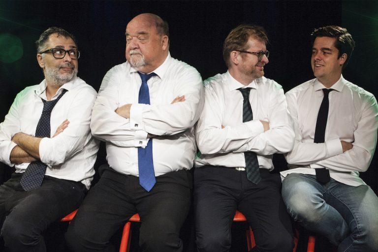 Standup-revyen - Pladderhumorister - Café Liva