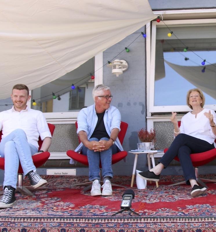 Morten Hede, Anders Lange, Janicke Branth